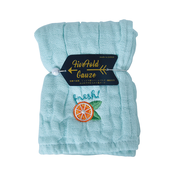 日本Nicott 五重珍珠紗手帕(共五款) 毛巾 方巾 童巾