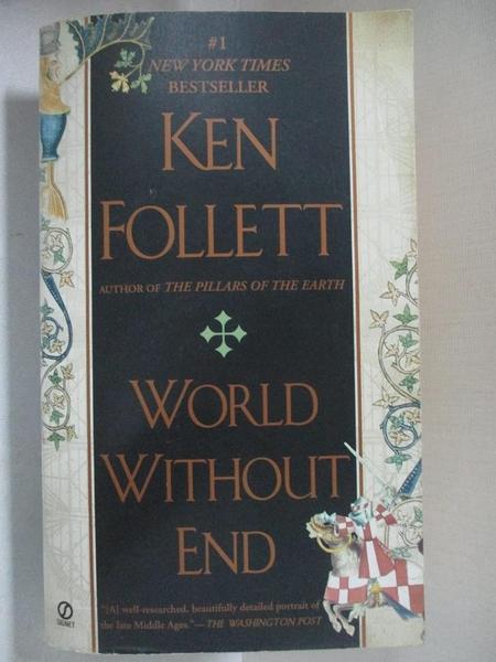【書寶二手書T1/原文小說_GHA】World Without End_Follett, Ken