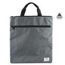簡約輕便公事包 工作袋 直式 灰色 AM...