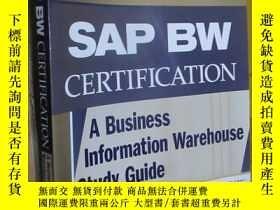 二手書博民逛書店Sap罕見Bw Certification: A Business Information Warehouse S