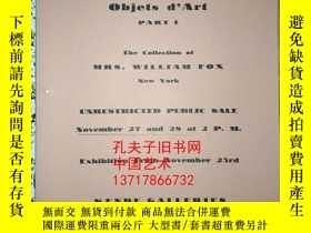 二手書博民逛書店grench罕見furniture objets dart pa
