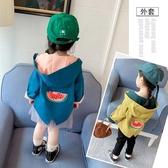 限定款厚外套 童裝女童外套春秋季快速出貨免運正韓女寶寶秋裝兒童洋氣時髦風衣潮衣