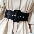 腰封秋冬腰帶女士bf風裝飾寬簡約百搭韓版大衣皮帶綁帶潮