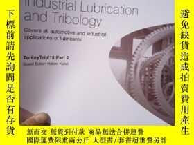 二手書博民逛書店Industrial罕見Lubrication and Trib