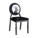 【森可家居】鹿頭公爵仿舊餐椅 7JF487-13 LOFT 英式復古工業風