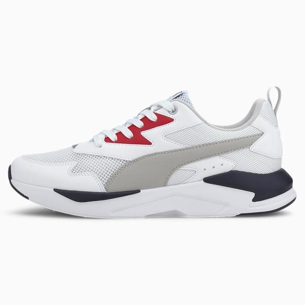 PUMA X-Ray Lite Trainers 男鞋 訓練 休閒 輕巧 透氣 復古 紅白【運動世界】37412203