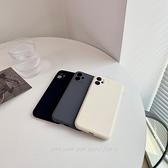 韓國ins高級感冷色調黑白灰全包液態矽膠蘋果手機殼 iphone12/11Promax/Xr/78Plus/Xsmax