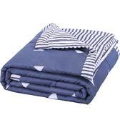夏天水洗棉空調被夏涼被芯單人學生宿舍夏季雙人春秋薄被子四件套