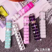 自泵式香水分裝瓶10ml 玻璃香水瓶按壓式高端玻璃香水香水分裝器 三角衣櫃