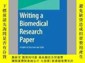 二手書博民逛書店Writing罕見a Biomedical Research PaperY405706 Brian Budge