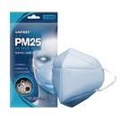 萊潔 防霾PM2.5 3D立體口罩-藍2...
