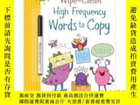 二手書博民逛書店Wipe-Clean罕見High-Frequency Words to Copy-Y465786 Hannah