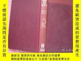 二手書博民逛書店老版精裝罕見DIE RICH DIE HAPPY 英文原版文學名