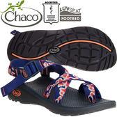 Chaco ZLW02_HC14加洛斯紅 女越野紓壓運動涼鞋-Z/Cloud2夾腳款休閒鞋