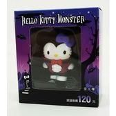 【超值加價購】Hello Kitty 變裝怪物公仔-吸血鬼 萬聖節