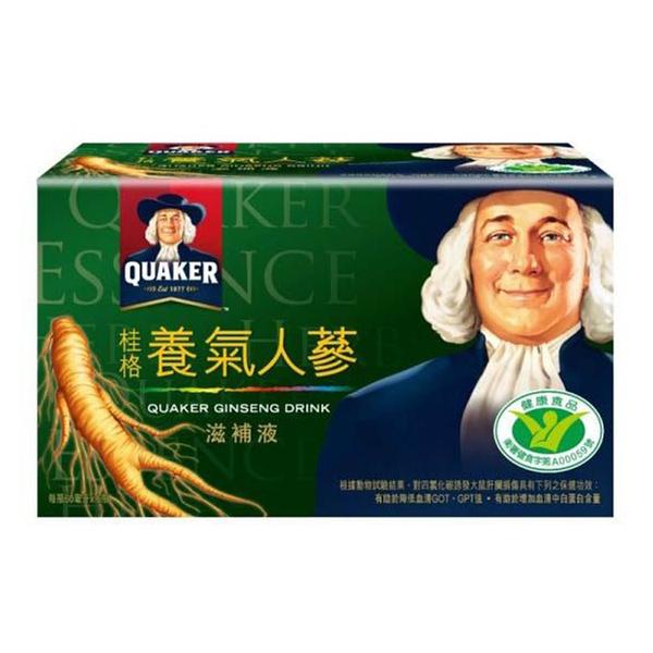◤超低價優惠◢QUAKER 桂格 養氣人蔘滋補液 6瓶裝