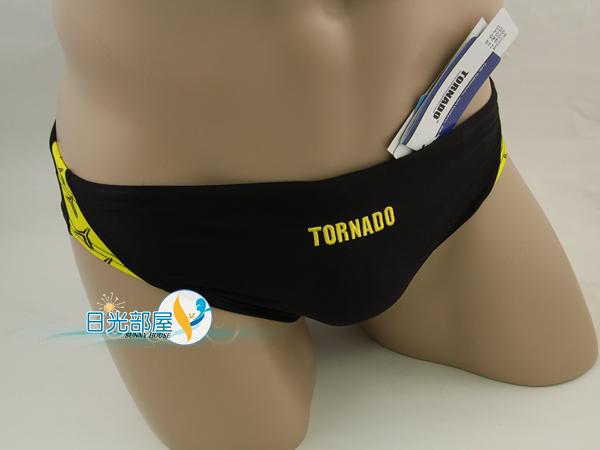 *日光部屋* TORNADO (公司貨)/ RM-604-BLK 競泳/訓練/耐穿/低腰三角泳褲(韓國知名品牌)
