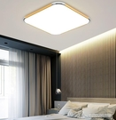 吸頂燈 LED吸頂燈遙控臥室燈具簡約現代家用大氣陽臺燈