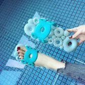 浴室防滑拖鞋女夏季平底按摩男凉拖鞋居家室內洗澡漏水軟底鏤空鞋