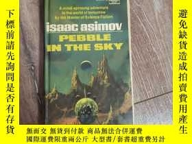 二手書博民逛書店Pebble罕見in the sky 阿西莫夫科幻經典Y31330 Isaac Asimov 無