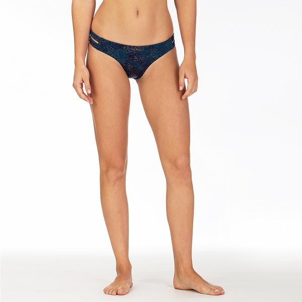 Hurley  W HRLY QD MAX LUSTER SURF BTM BLACK  比基尼褲-(女)