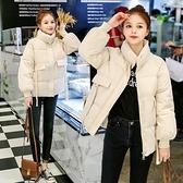小個子棉衣女短款加厚韓版冬裝新款棉服寬鬆ins外套
