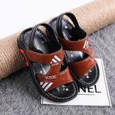 正韓男童涼鞋兒童中大童小男生沙灘鞋小孩學生童鞋 萬聖節