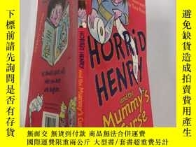 二手書博民逛書店horrid罕見henry and the mummy s curse 可怕的亨 利和木乃伊的詛咒..,Y2