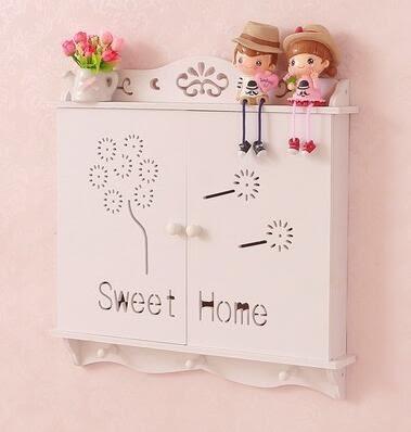 電錶箱裝飾箱創意歐式配電箱電閘盒電錶箱遮擋箱【大號內徑45.5*高度34厘米】
