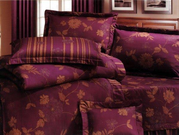 標準雙人-5*6.2尺 瑪東尼奧_雅緻麗人400條紗7件式床罩組