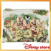 迪士尼白雪公主平板包收納包手拿包資料袋刺繡與小矮人701715通販屋