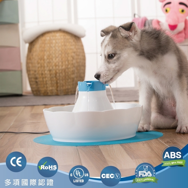 小山泉寵物循環飲水器(基本款) 藍