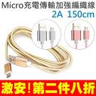 KUCIPA K97-V8 充電線 Micro USB 充電線 傳輸線 編織線 手機 平板 車充 旅充 行動電源 1.5米 Note5 A7 A8 S7edge