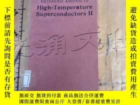 二手書博民逛書店high-temperature罕見supercomductor