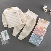 長袖護肚套裝 彩棉緹花肚衣套裝 嬰兒內衣套裝 保暖童裝 HY11501 好娃娃