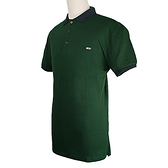 BURBERRY紳士素面POLO衫(深綠色)082041