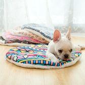 寵物墊子圓形窩墊狗狗貓咪毛毯被子狗窩睡墊貓墊子