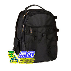 [104 美國直購] AmazonBasics Backpack 後背式 相機包 for SLR/DSLR Cameras and Accessories - Black $1521