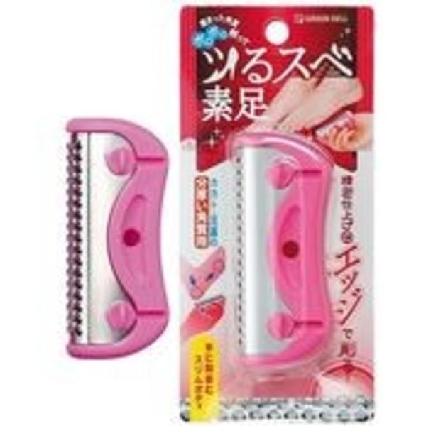 【日本製】【GREEN BELL】日本製 足部角質削除器 粉色 NC-305(一組:12個) SD-21908 -