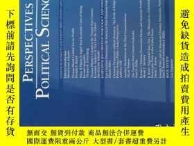 二手書博民逛書店Perspectives罕見on Political Science 2017年1-3月政治學透視Y14610