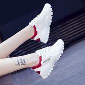 運動鞋 運動鞋女鞋春季韓版ulzzang原宿百搭小白鞋跑步老爹鞋【韓國時尚週】