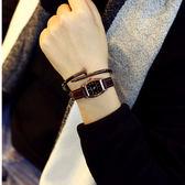 手表女品牌女款皮帶潮小表盤