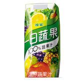 波蜜一日蔬果100%蔬果汁330ml*6罐【愛買】