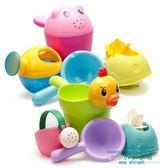 兒童洗澡玩具戲水車小朋友小黃鴨洗頭杯花灑寶寶灑水壺套裝沙灘