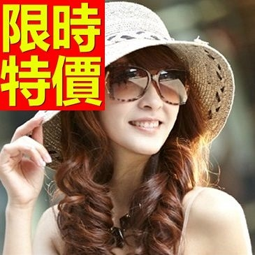 防曬帽-氣質甜美新款女遮陽帽2色56g23【巴黎精品】