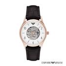 ARMANI 貝達系列鏤空時尚精品機械腕錶 AR1920