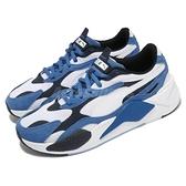 【海外限定】Puma 休閒鞋 RS-X3 Super 白 藍 男鞋 老爹鞋 厚底 復古 運動鞋【ACS】 37288402