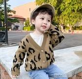 男童針織開衫兒童外套手工編織男寶寶復古毛衣小童秋裝潮