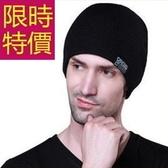 毛帽-加厚內裡韓版針織包頭男帽子5色62e57【巴黎精品】