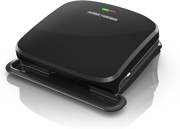 [9美國直購] 燒烤爐 George Foreman 4-Serving Removable Plate Grill and Panini Press GRP360B